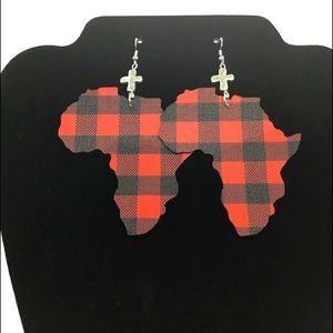 Africa Earrings-Large